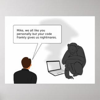 Estudio de código póster