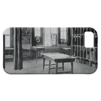 Estudio de cristal de la pintura, de los talleres iPhone 5 carcasas