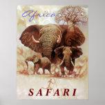 Estudio de Ele del safari de África Impresiones