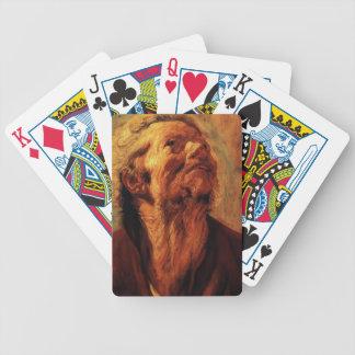 Estudio de Jacob Jordaens- de la cabeza de Abraham Barajas De Cartas
