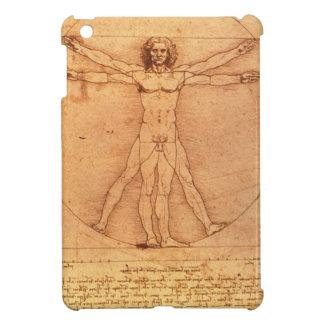 Estudio de la anatomía de Leonardo da Vinci del cu iPad Mini Carcasa