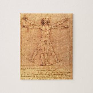 Estudio de la anatomía de Leonardo da Vinci Puzzle Con Fotos
