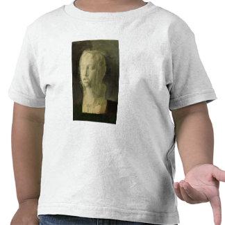 Estudio de la cabeza de un cantante joven camisetas