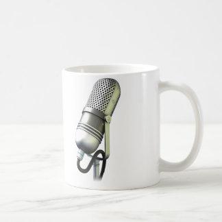 Estudio de la escucha telefónica - expediente. taza básica blanca
