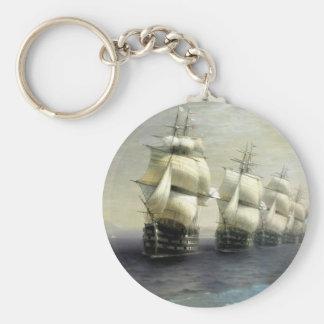 Estudio de la flota del Mar Negro Llavero
