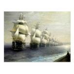 Estudio de la flota del Mar Negro Tarjeta Postal