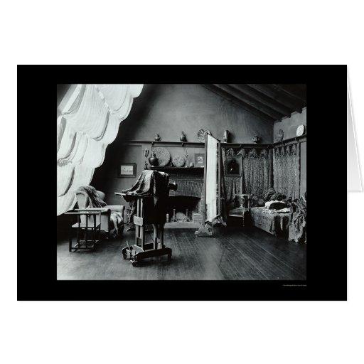 Estudio de la fotografía en Washington, DC 1900 Felicitaciones