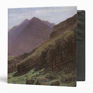 Estudio de la montaña c 1840-43