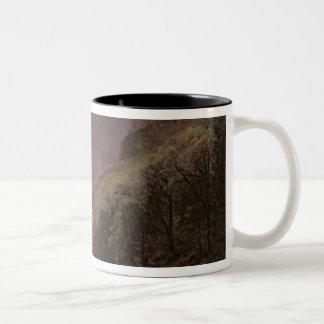 Estudio de la montaña, c.1840-43 taza de café