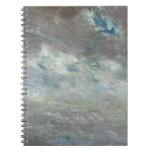Estudio de la nube, 1821 (aceite en el papel a bor libretas espirales