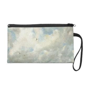 Estudio de la nube, 1821 (aceite en el papel coloc