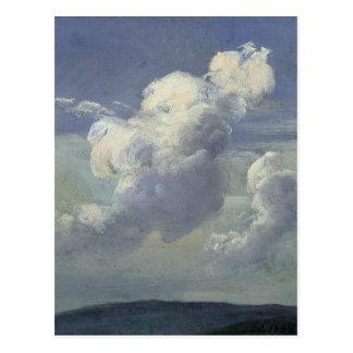 Estudio de la nube, 1832 postal