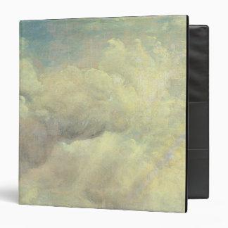 """Estudio de la nube, c.1821 (aceite en lona) carpeta 1 1/2"""""""