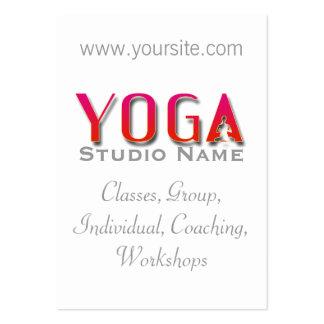 Estudio de la yoga - tarjeta de visita