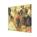 Estudio de las cabezas del Moorish Lienzo Envuelto Para Galerías