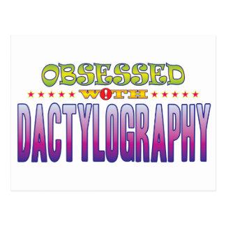 Estudio de las huellas digitales 2 obsesionado postal