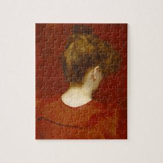 Estudio de Lilia, 1887 (aceite en lona) Puzzle Con Fotos