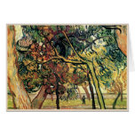 Estudio de los árboles de pino Vincent van Gogh Tarjetón
