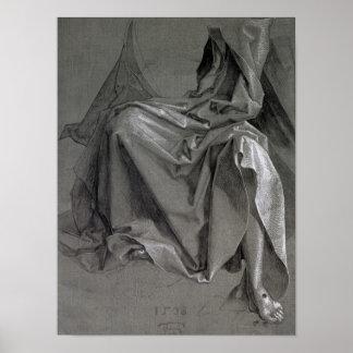 Estudio de los trajes de Cristo 1508 Posters