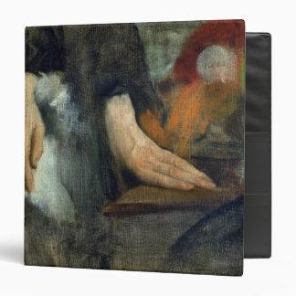 "Estudio de manos, 1859-60 carpeta 1 1/2"""