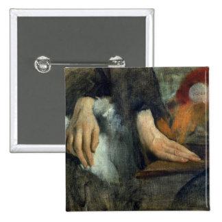 Estudio de manos, 1859-60 pin cuadrada 5 cm
