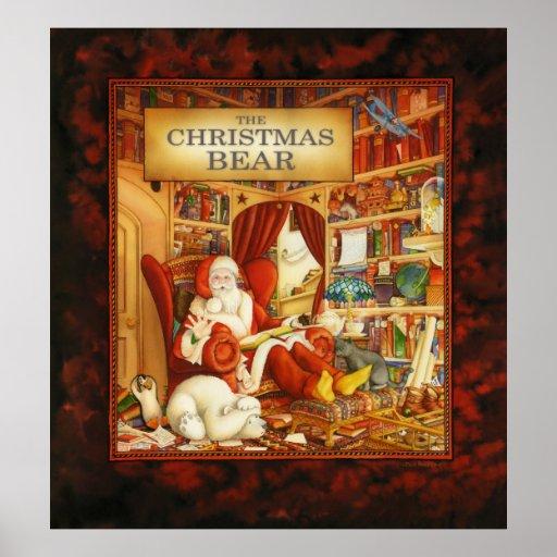 Estudio de Papá Noel Poster