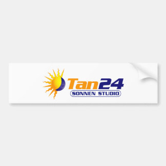 Estudio de Tan24 Sonnen Etiqueta De Parachoque