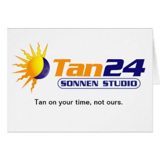 Estudio de Tan24 Sonnen Felicitación