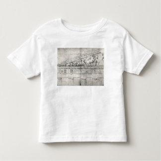 Estudio de un frontón del Parthenon Camisas