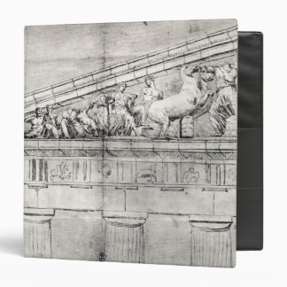 Estudio de un frontón del Parthenon