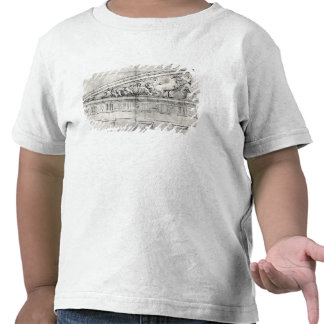 Estudio de un frontón del Parthenon Camisetas