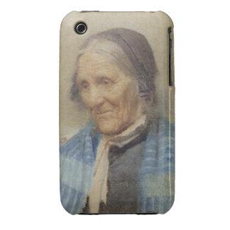Estudio de una mujer mayor, 1912 (w/c en el papel) Case-Mate iPhone 3 fundas