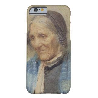 Estudio de una mujer mayor, 1912 (w/c en el papel) funda para iPhone 6 barely there