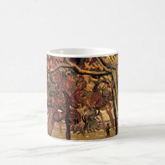 Estudio de Van Gogh del impresionismo del vintage Taza