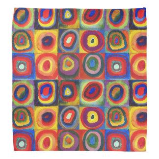 Estudio del color de Wassily Kandinsky Bandana
