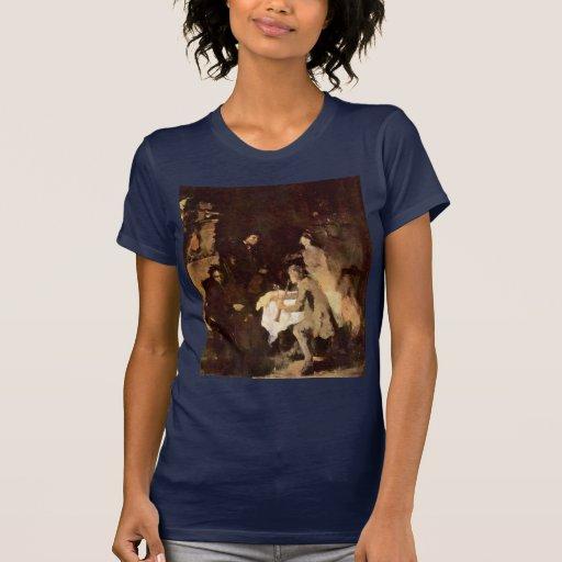 Estudio del concierto de Leibl Wilhelm (la mejor Tee Shirt