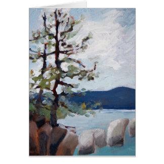 Estudio del lago Tahoe Tarjeta Pequeña