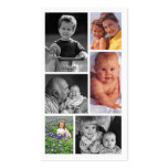 Estudio del profesional de la fotografía tarjetas de visita