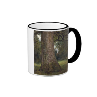 Estudio del tronco de un árbol de olmo, c.1821 (ac taza de café