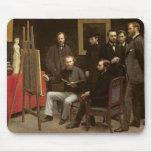 Estudio en Batignolles, 1870 Alfombrilla De Raton