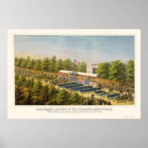 Estudio magnífico del ejército en Washington, DC 1 Póster