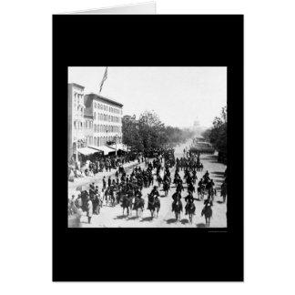 Estudio magnífico del ejército en Washington, DC Tarjeta De Felicitación