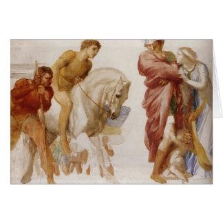 Estudio para Coriolanus por los vatios de George F Felicitación