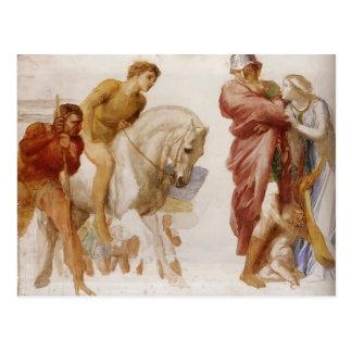 Estudio para Coriolanus por los vatios de George F Tarjeta Postal