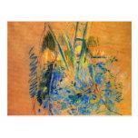 Estudio para el cerezo de Berthe Morisot Tarjeta Postal