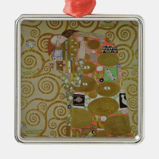 Estudio para el cumplimiento, c.1905-09 (w/c y oro adorno navideño cuadrado de metal