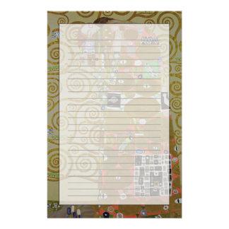 Estudio para el cumplimiento, c.1905-09 (w/c y oro personalized stationery