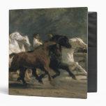"Estudio para el Horsemarket, 1900 Carpeta 1 1/2"""