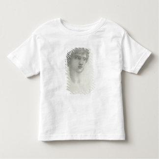 Estudio para el jefe de Perseus (lápiz en el Playera De Bebé