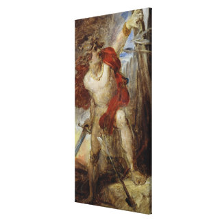 Estudio para el valor Gaulish, c.1830-32 Impresion En Lona